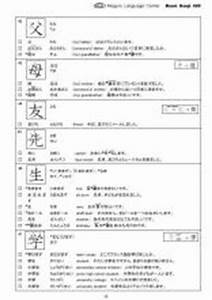 Voice Level Chart Basic Kanji 320 For N5 And N4 This Is Not Free Mlc