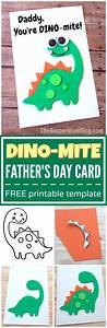 """""""Dino-Mite"""" Homemade Father's Day Card - The Soccer Mom Blog"""
