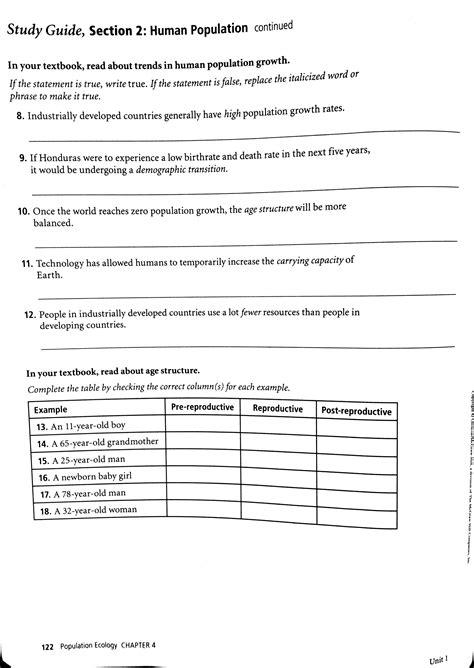 worksheet population ecology worksheet worksheet