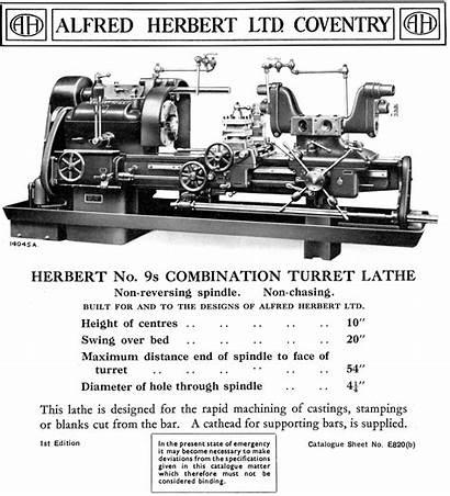 Herbert Lathe 9s Lathes 2d Capstan Manuals