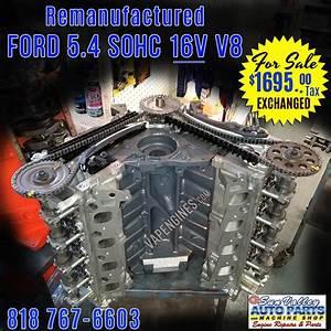 Remanufactured 97-06 Ford 5 4 16v V8 Engine  2v  For Sale