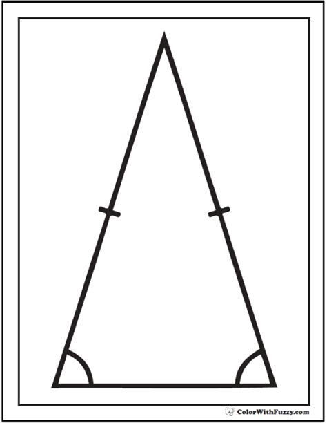big triangle template printable free worksheets 187 printable triangles free math