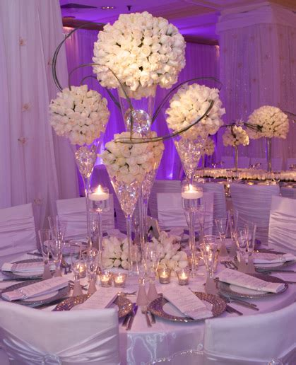 david tutera table centerpieces i like the idea of the rhinestone gems in the vases