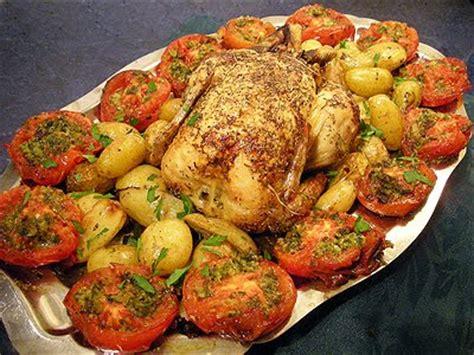 cuisiner pomme de terre grenaille poulet rôti aux herbes la recette facile par toqués 2