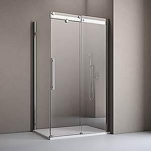 Schiebetür Glas Bauhaus : camargue duschwand top roller 80 x 210 cm st rke 6 mm ~ Watch28wear.com Haus und Dekorationen