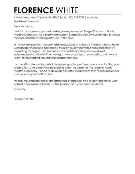 Sports Management Internship Cover Letter Examples ...