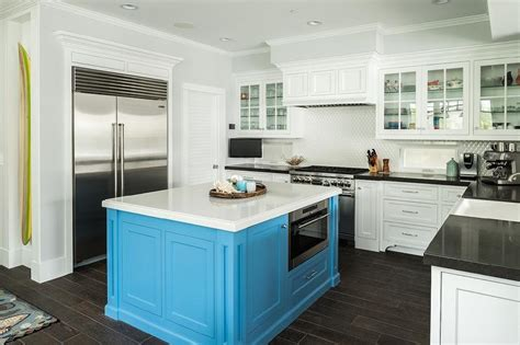 turquoise kitchen island square turquoise kitchen island cottage kitchen 2969