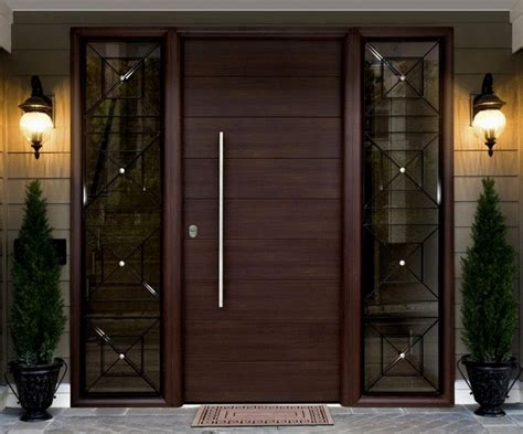 contemporary front door designs with sidelight home