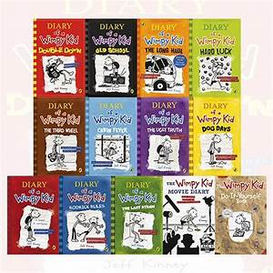 Diary Of A Wimpy Kid Collection 13 Books Set By Jeff