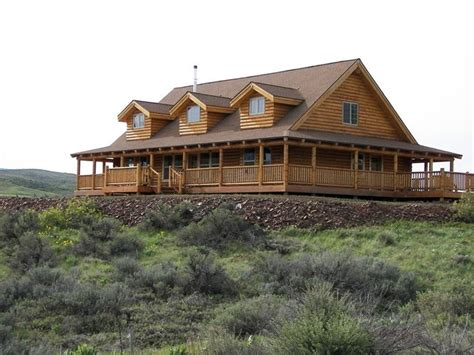 ranch style with wrap around porch homes