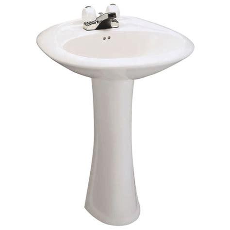 Menards Barrett Pedestal Sink by Pedestal Sinks Mansfield Plumbing