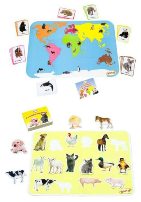teach  learning sets animals telling time planets