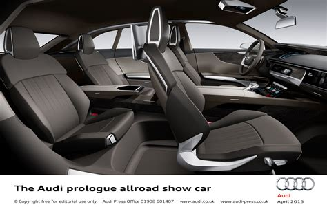 audi prologue allroad show car scales new heights in shanghai littlegate publishing