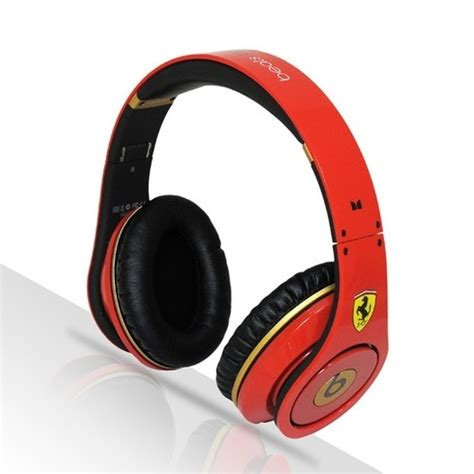Monster Beats By Dr Dre Ferrari Limited Edition Studio