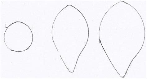 petal outline   clip art  clip art