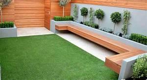 Sculpture De Jardin Contemporaine : am nagement jardin contemporain en style minimaliste ~ Carolinahurricanesstore.com Idées de Décoration