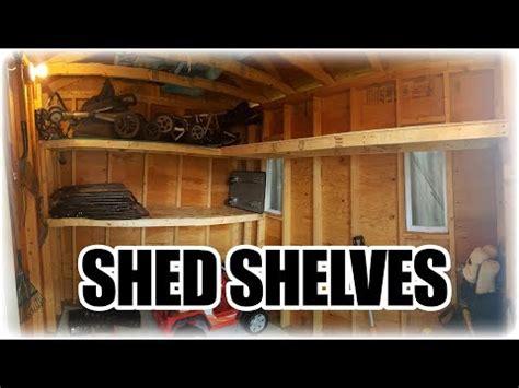 simple easy diy shelves   sturdy shelving  doovi