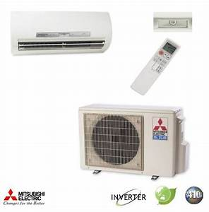 18000 Btu Mitsubishi Mr Slim Ductless Mini Split Air