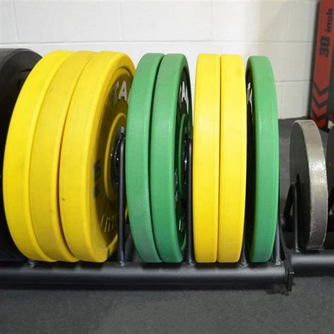 horizontal weight plate storage  wheels
