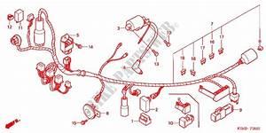 Wire Harness  Battery For Honda Nxr 125 Bros Partida