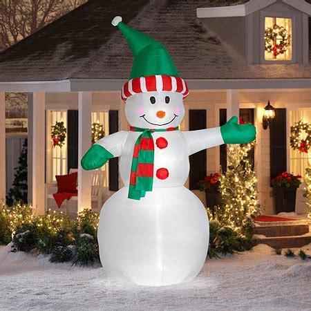 tall airblown snowman giant christma walmartcom