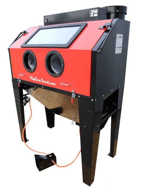 sand blast cabinet new redline re48cs abrasive sand blasting blaster blast