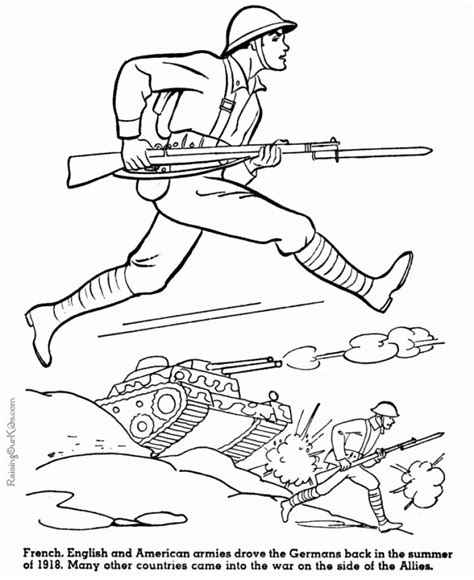 kids printable army coloring pages vvi
