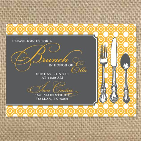 bridesmaid luncheon wording brunch invitations template best template collection