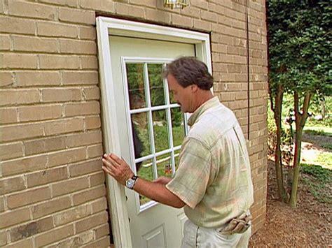 How To Install A Prehung Exterior Door  Howtos Diy