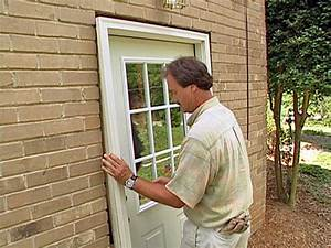 How to install a pre hung exterior door how tos diy for How to install prehung exterior door