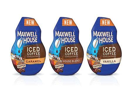 Maxwell house iced coffee concentrate, vanilla, 1.62 ounce : Get $1.00 off Maxwell House Iced Coffee Concentrate ...