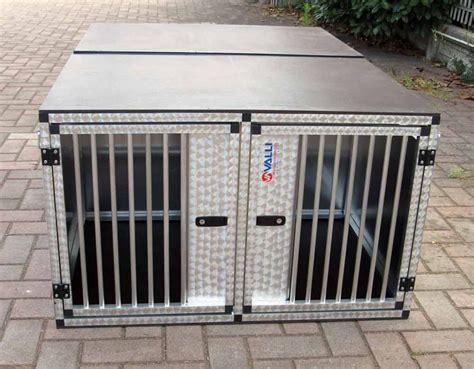 gabbia per trasporto cani gabbia doppia trasporto cani 07 17 valli s r l gabbie