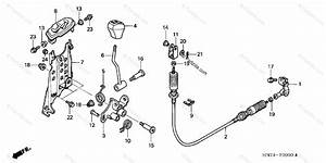 Honda Atv 2005 Oem Parts Diagram For Select Lever