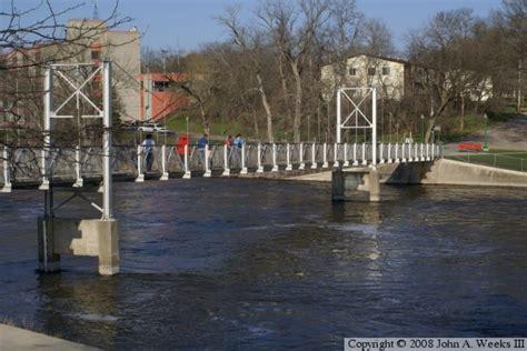 the walking bridge granite falls mn