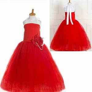 Kids party gowns designs red tutu party dresses for 8 year for Dresses for 8 year olds weddings
