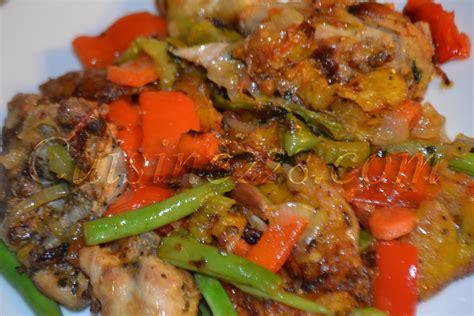 poulet dg cuisine camerounaise
