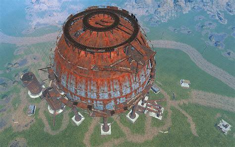 rust map dome tank sphere wiki wikia fandom