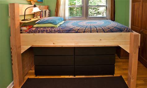 27507 diy loft bed building a loft bed at warp speed the pragmatist