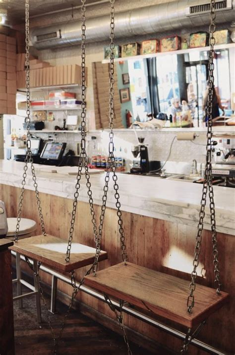Swinging Bar Stools by Bar Stools Swings And Stools On Pinterest