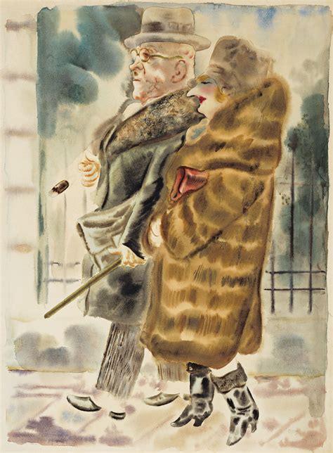 George Grosz (1893-1959) , Ehepaar | Christie's