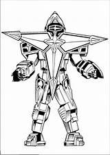 Robot Coloring Power Printable Boys Rangers Dibujos Robots 1nza sketch template