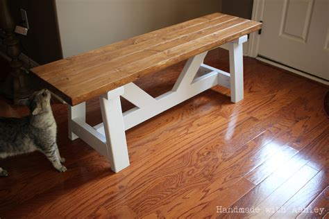 diy providence bench plans  ana white handmade  ashley