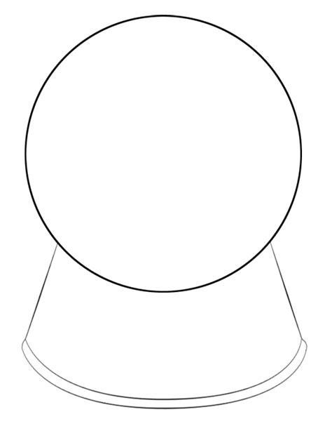 snow globe template snow globe coloring page printable sketch coloring page