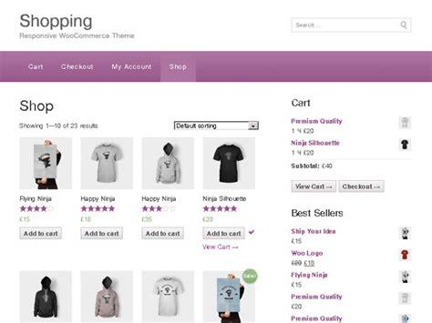 shopping ecommerce wordpress theme themehall