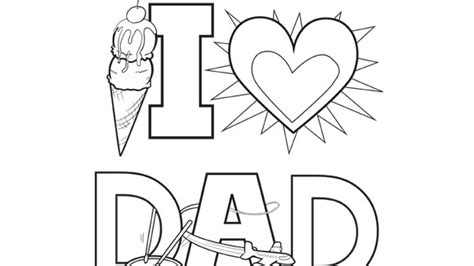 Happy Father´s Day Drawings Coloring