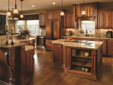 kitchen cabinets cherry finish 39 best fancy islands haas cabinet images on 5956