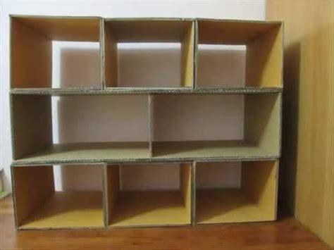 diy    shoes rack  recycled cardboard diy rack
