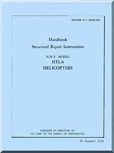 Bell Helicopter Htl6 Structural Repair Instructions