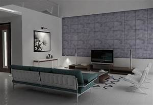 50 amazing interior designs created in 3d max and photoshop for Interior design living room in 3ds max