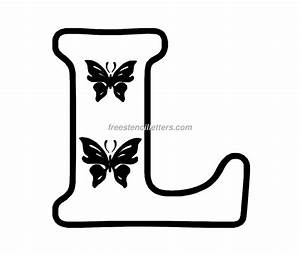 6 best images of large printable cut out letters l With dye cut letters